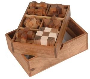 Monkey Pod Games Six Puzzle Gift Set
