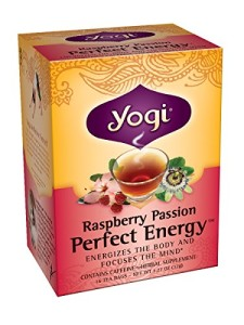 Yogi Raspberry Passion Perfect Energy, 1.12 Ounce Package