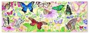 Melissa & Doug Butterfly Bliss Floor Puzzle (48 pieces)