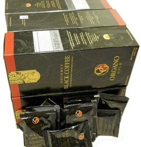 6 Boxes of Organo Gold Ganoderma - Black Coffee (30 sachets per box)