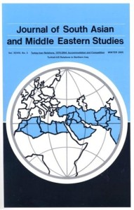 Journal of South Asian and Middle Eastern Studies