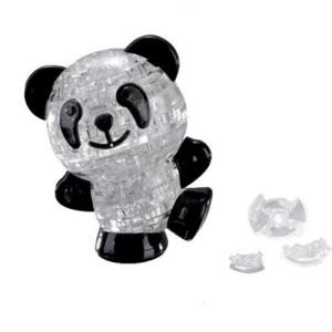 3D Crystal Puzzle 53 pieces Panda Model(Black & White) Toys Kids