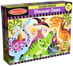 Melissa & Doug Dinosaur Dawn Floor Puzzle