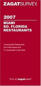 Zagat Miami So Florida Restaurant Survey
