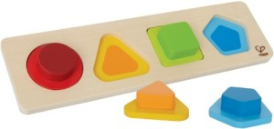 Hape - Early Explorer - First Shapes Wooden Puzzle
