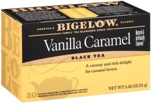 Bigelow Vanilla Caramel Tea, 20-Count Boxes (Pack of 6)