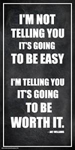 Arthur Williams Inspirational Motivational Businessman Executive Celebrity Quote Classroom Poster Print 12x24