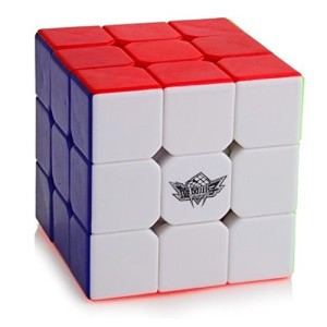 D-FantiX Cyclone Boys 3x3 Speed Cube Stickerless Magic Cube 3x3x3 Puzzles (56mm)