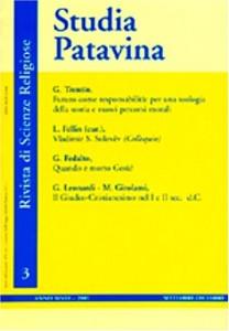 Studia Patavina : Rivista Di Scienze Religiose