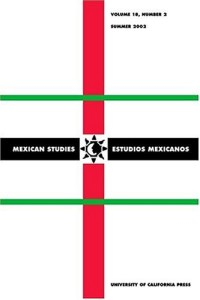Mexican Studies