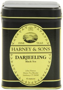 Harney & Sons Darjeeling Loose Leaf Tea, 4 Ounce Tin
