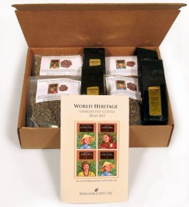World Heritage Green Unroasted Coffee Bean Kit