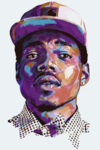 Chance the Rapper Silk Poster 36x24 Inches