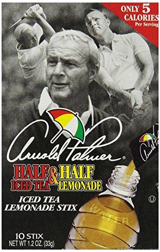 Arizona tea, Arnold Palmer Mix Stix, Half Iced Tea & Half Lemonade, 10 stix, 1.2oz.(Pack of 12)