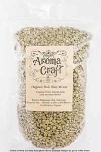 Aroma Craft Coffee : Bali ORGANIC Blue Moon Unroasted Coffee Green Beans Home Roasting