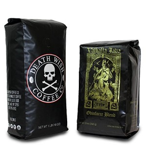 Death Wish and Valhalla Java Coffee Bundle