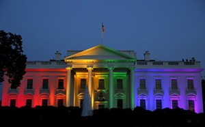 Gay Marriage Rainbow White House Photo Art Obama Administration Photos Artwork 8x12