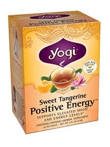 Yogi Sweet Tangerine Positive Energy, 16 Tea Bags