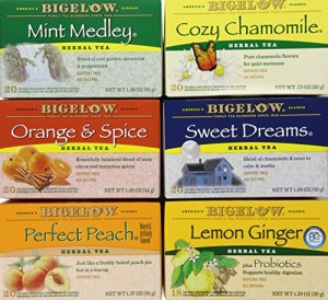 Bigelow Mixed Herb Teas, 118 Count