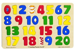Melissa & Doug 0-20 Numbers Puzzle