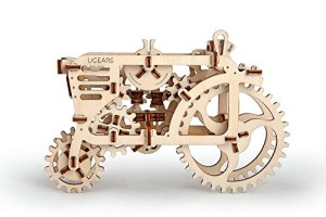 Ugears 3D Self Propelled Model Tractor