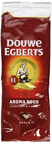 2 Packs Douwe Egberts Aroma Rood Whole Beans Coffee x 17.6oz/500g