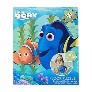 Finding Dory Puzzle Floor Puzzle Set 46 PC Big Jigsaw Finding Dory Puzzle 3 Ft Puzzle