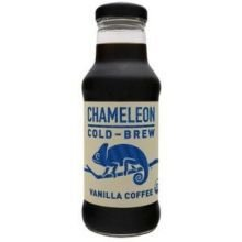 Chameleon Cold Brew Organic Vanilla Coffee, 10 Fluid Ounce -- 12 per case.