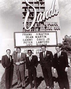 Frank Sinatra the Rat Pack Sands Hotel 8x10 Photo