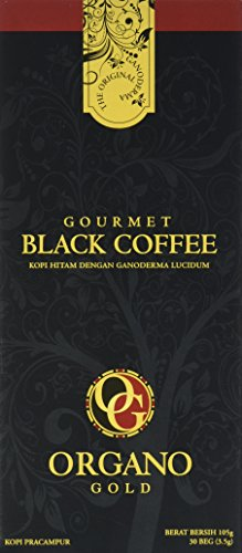 1 Box of Organo Gold Ganoderma Gourmet - Black Coffee (30 sachets)