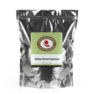 Coffee Bean Direct Italian Roast Espresso, 2.5 Pound