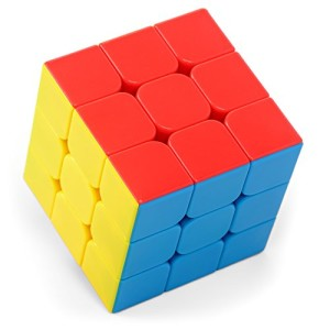 High Speed Puzzle Cube (Tanbi Puzzles RC100) 3x3 Stickerless (3 By 3) Magic