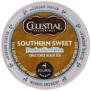 Celestial Seasonings, Perfect Iced Tea, K-Cup Portion Pack for Keurig K-Cup Brewers