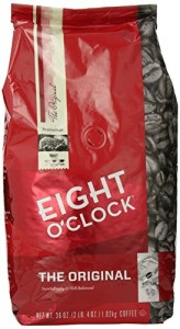 Eight O'Clock The Original Whole Bean Coffee, 36-Ounce