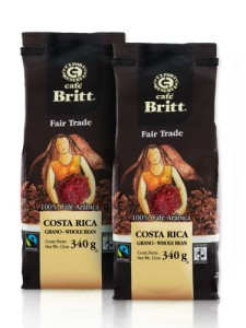 Café Britt Coffee, 12-Ounce Bags (Pack of 2)