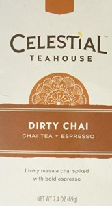 Celestial Seasonings Teahouse Dirty Chai Tea