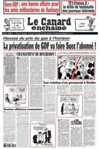 Le Canard Enchaine C-W Les Dossiers Du Canard