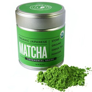 Jade Leaf - Organic Japanese Matcha, Classic Ceremonial Grade (For Sipping as Tea)