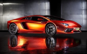 2013 Lamborghini Aventador By Print Tech 24X36 Poster Banner Photo
