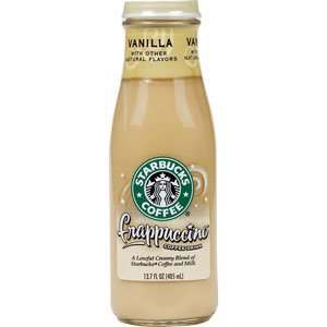 Starbucks Coffee Frappuccino Coffee Drink, Vanilla Flavor, 13.7 fl. oz. (Pack of 6)