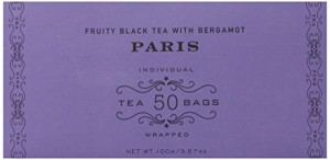 Harney & Sons Black Tea, Paris, 50 Tea Bags