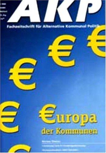 Akp - Fachzeitschrift Fuer Alternative Kommunalpolitik