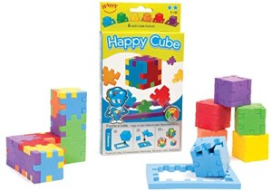 The Happy Cube - Set of 6 Foam Puzzle Cubes - Ages 5 +