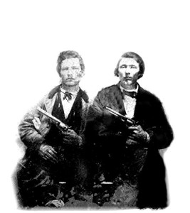 Frank And Jesse James Old West 8 X 10 Photo
