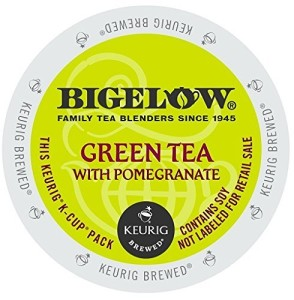 Bigelow Green Tea with Pomegranate, K-Cups for Keurig Brewers