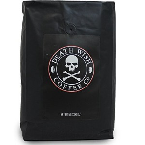 Death Wish Ground Coffee, Fair Trade and USDA Certified Organic
