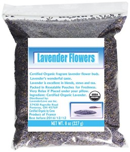 French Lavender Organic Lavender Flowers Culinary Grade 8 Oz