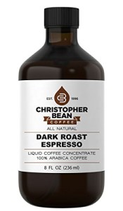 Dark Roast Espresso Cold Brew Or Hot Liquid Coffee Concentrate 8 Ounce Bottle