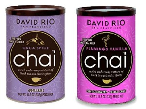 David Rio Chai Mix, Sugar Free 2 Caniser Variety Pack, 11.9 Oz