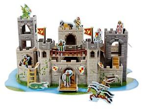 Melissa & Doug Medieval Castle 3D Puzzle (100 Piece)